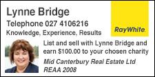Lynne Bridge Ray White Ashburton