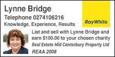 Lynne Bridge Ray White Ashburton